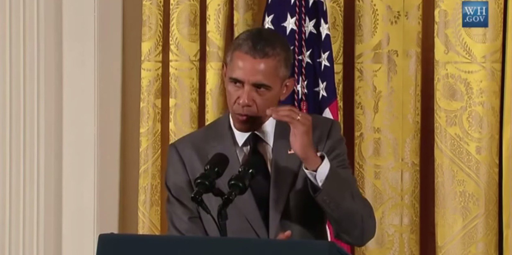 President Obama: Under My Leadership, US Once Again Most Respected ...