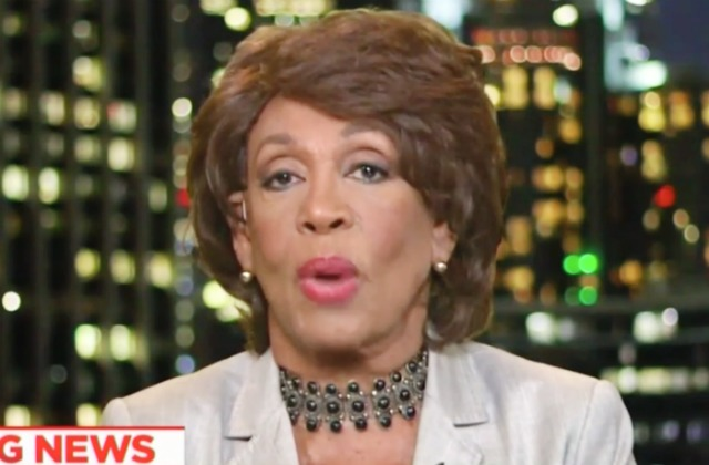 Jew Detector: Maxine Waters Hits Back At Tucker Carlson On MSNBC; He